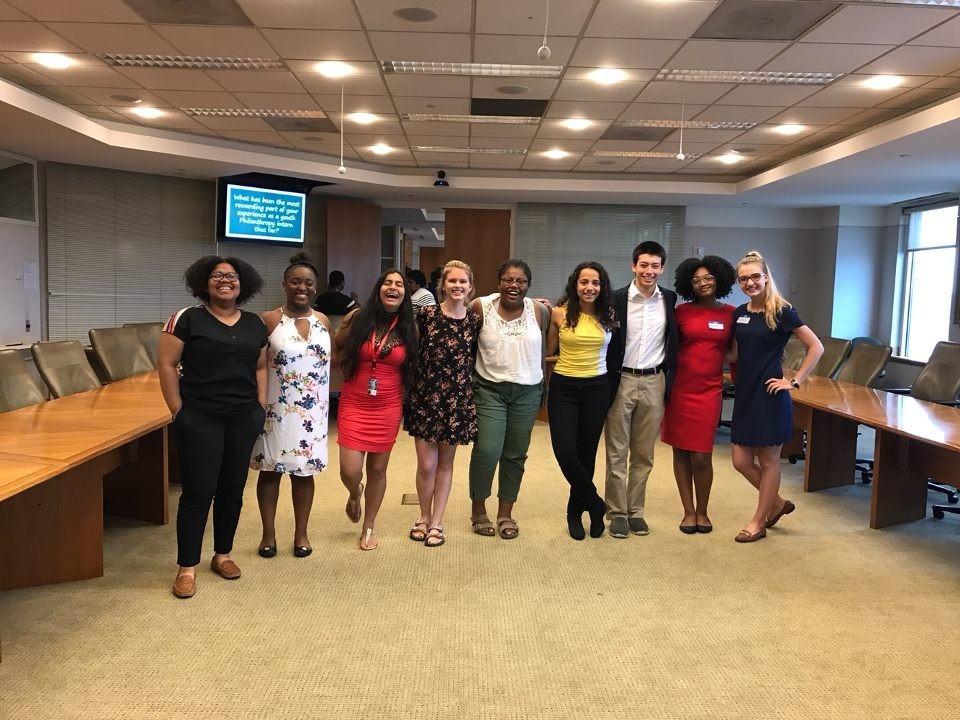 2017 SYPIP Interns at the Youth Philanthropy Summit (Photo by Amma Ababio) (2)