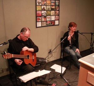 Live Music: The Ortner/Marcinizyn Duo