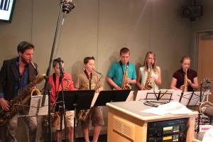 YES: David's Music House Saxophone Ensemble | Neighborhood