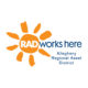 RAD logo & stacked tagline_square